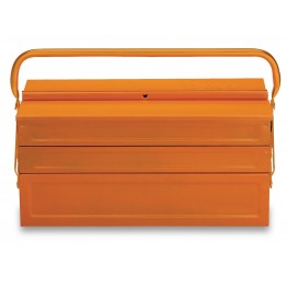 Five-section cantilever tool box, made from sheet metal C20L