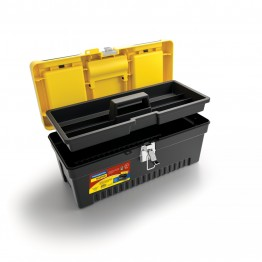 Plastic Tool Box 17 '' with Removable Tray Code - 43803017