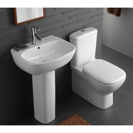Twyford Moda WC Flushwise Close Coupled Back-To-Wall WC without Zinc and Taps