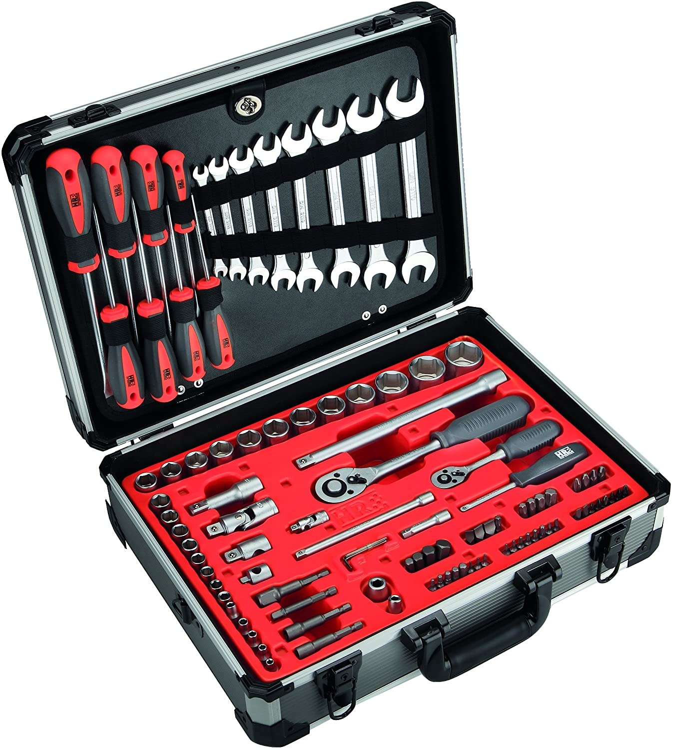 Complete Mechanical Tool box With 120 Tools in Aluminium Case , 170822