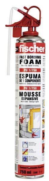 Foam Fixing System PU 1/750  - 12pcs